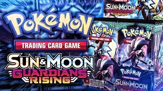 Pokemon TCG - Sun & Moon Guardians Rising OPENING!