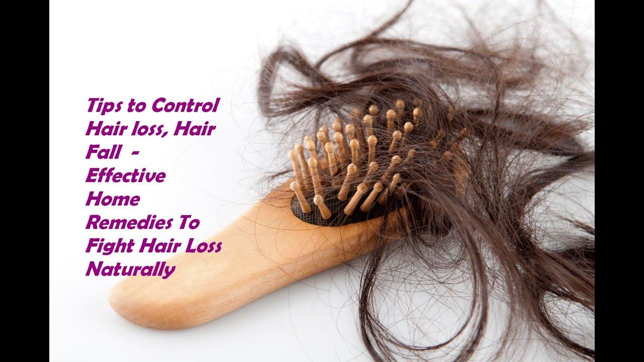 How to control hair fall or hair baldness using homemade hair packs