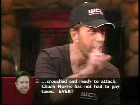 Chuck Norris, Jokes of Himself and by HIMSELF