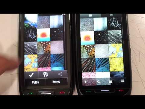 Nokia 701 (IPS) Belle vs Nokia C7 (AMOLED) Anna