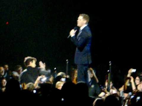 Michael Buble HOME live Indianapolis