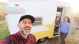 Are We Really Going to Live in This TINY CAMPER