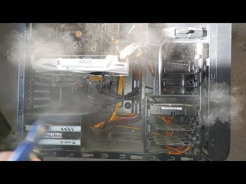 Cleaning my pc after one year of use