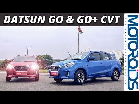 Datsun Go and Go Plus CVT Review | Hindi |  Most Economical CVT Auto | Motoroids