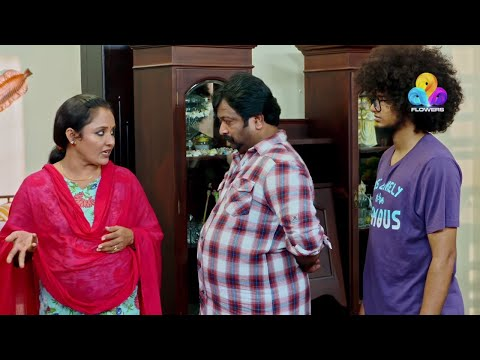 Uppum Mulakum - Neelu Starting New Business │Flowers│EP# 589