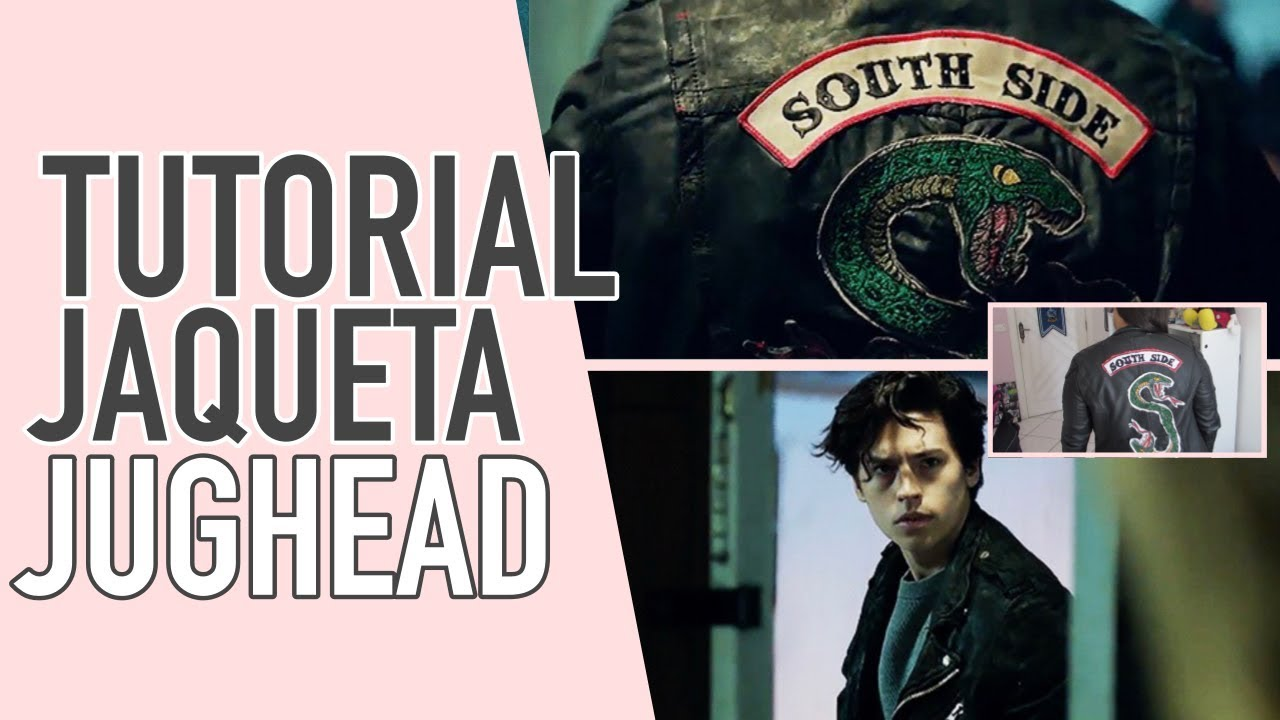 54827ba001 DIY JUGHEAD JAQUETA SOUTH SIDE (RIVERDALE INSPIRED) - YouTube