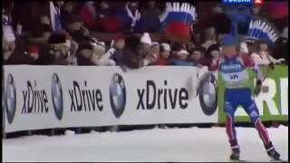 Самое смешное видео Приколы биатлонистов, лучшие ляпы и провалы 1