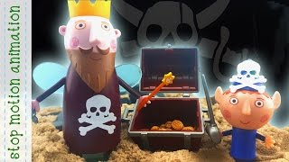 King Thistle Ship Ben & Holly's Little Kingdom Stop Motion Animation