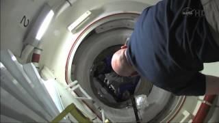 STS-134 Endevour - Hatch Opening - Endevour Side
