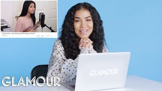 "On this episode of ""You Sang My Song,"" Jhené Aiko watches YouTube f..."