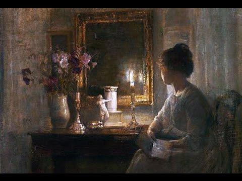 Arvo Part : Spiegel im Spiegel. Carl Vilhelm Holsoe : Paintings.