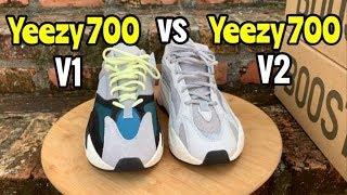 Yeezy 700 Comparison V1 vs V2 - YouTube