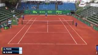 Marsel Ilhan -  Ante Pavic (Tunis Open 2014) Quarterfinal Video