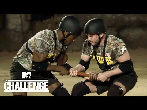 1st Elimination: Pole Wrestling 🤼‍♂️ (Sean vs. Idris) | The Challenge: War of The Worlds 2