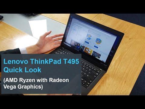 Lenovo ThinkPad T495: Quick Look (AMD Ryzen Powered)