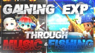 MapleStory 2 - How to Get EXP Through Music and Fishing!