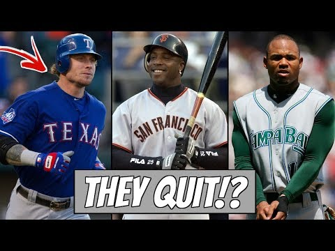 These MLB Superstars QUIT Without Telling Anyone