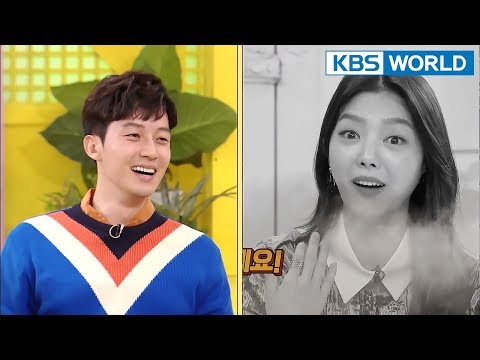 Eom HyunKyung talks to Heo Kyeonghwan while drunk (feat.blackout) [Happy Together/2018.02.15]
