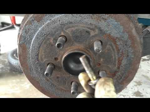 How To Remove A Seized Brake Drum Or Rotor 🚙