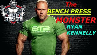 Download The BENCH PRESS MONSTER RYAN KENNELLY !! MP3