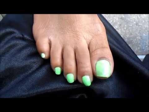 Milf jaquece riggs green toenails