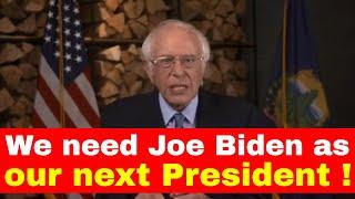 Bernie sanders excellent speech from dnc convention 2020   us hub