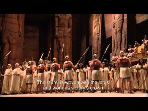 Aida at the Met   Live in HD    Glory to Egypt