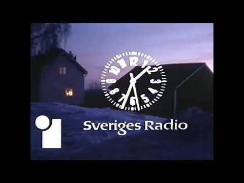 TV1-avslutning julafton 1978 med Jeanette von Heidenstam