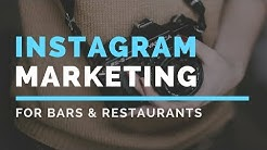 Instagram Marketing Strategy For Restaurants And Bars