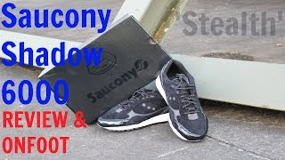 saucony x offspring shadow 6000 stealth review