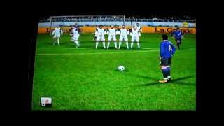 Pro Evolution Soccer 2012 Wii - Goles