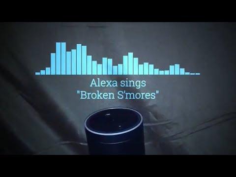 "Alexa sings ""The Ballad of the Broken S'more"" (lyrics)"