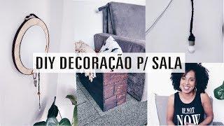 DIY  | 3 Ideias de Decoração para Sala | Hall