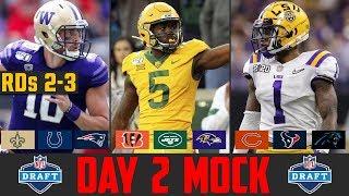2020 NFL Mock Draft Rounds 2-3   Day 2 NFL Mock Draft 2020