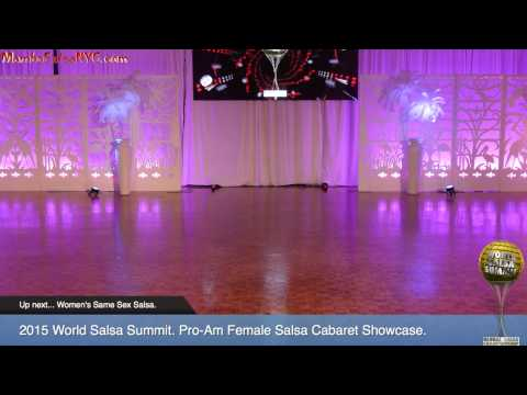 WSS15 Feb5.  Pro Am Female Salsa Cabaret Showcase. REC 1080p