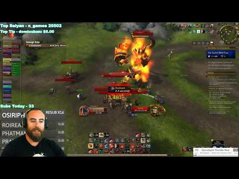 Battle for Azeroth (Beta): WARFRONTS ARE INSANE! :D - Level 120 Fury Warrior Gameplay