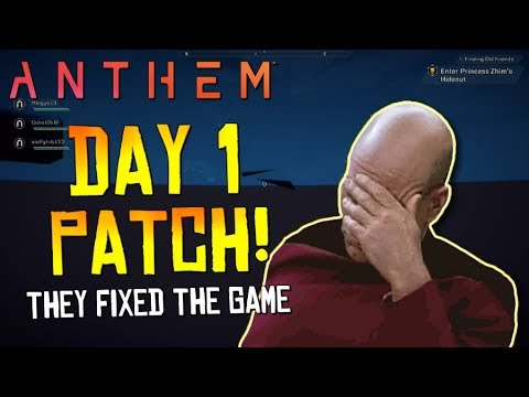 "Anthem (PS4) - ""The Day 1 Patch Fixed The Game!""... The Fanboys Were Right! (I Was Wrong)"