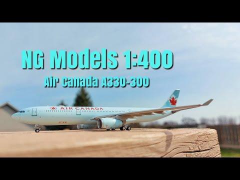 NG Models 1:400 Air Canada Old Livery A330-300