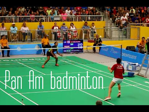 Toronto 2015 Pan Am & Parapan Am Games + Globalfest: Badminton