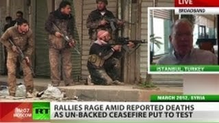 Engdahl: CIA plays ugly role, trains Syrian rebels