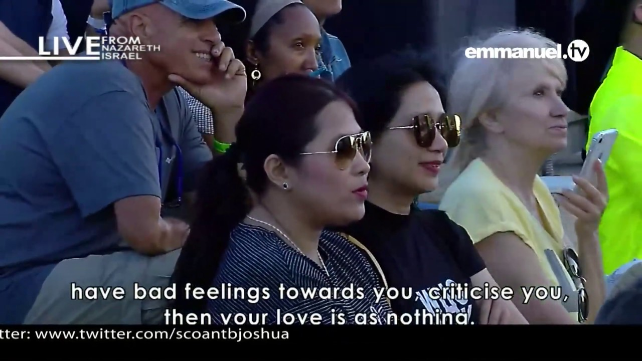 WE ARE KNOWN BY OUR LOVE PART 1 MESSAGE BY PROPHET TB JOSHUA NAZARETH  MEETING DAY 1: 23 JUNE 2019