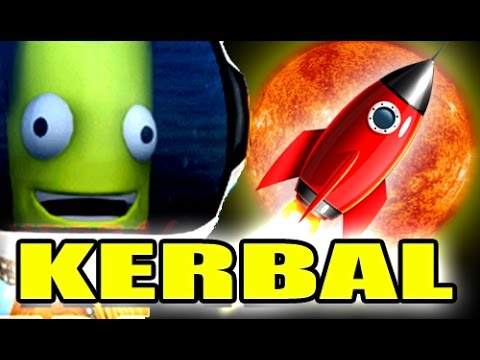 TRAVELING TO THE SUN! - Kerbal Space Program Gameplay 2 - VenturianTale  - Q9UMoqF-W4c -