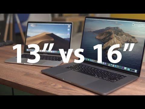 """Сравнение Macbook Pro 16"""" и Macbook Pro 13"""" — Какой выбрать?!"""