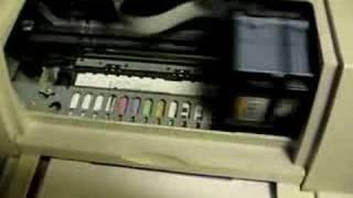 Printer Test of a HP Deskjet 890c
