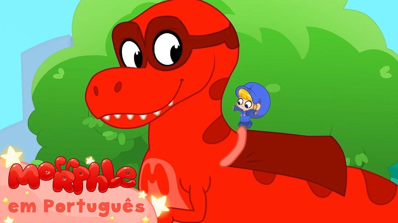 Morphle em Português   Morphle, Meu Dinossauro Super-herói   Desenhos para Crianças