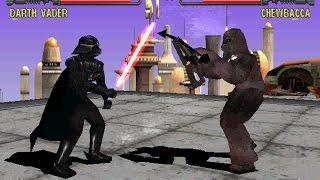 Star Wars: Masters of Teras Kasi [PS1] - play as Darth Vader