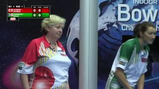 World Indoor Bowls Championship 2017: January 16th Evening Session