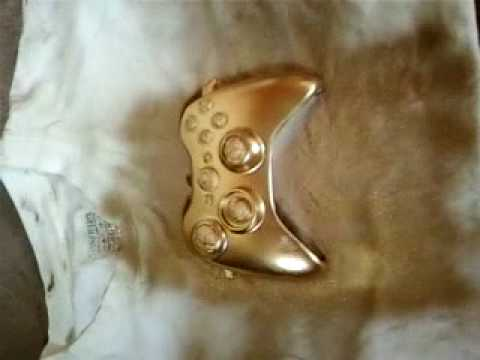 My First Spray Painted Xbox 360 Controller