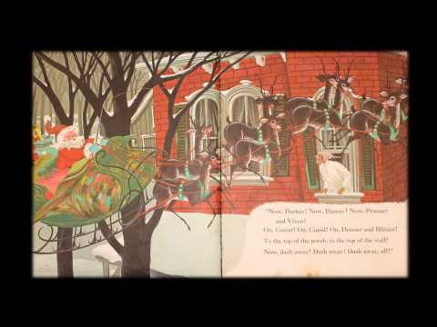 'Twas the Night Before Christmas Book- Clement C. Moore