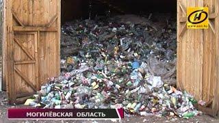 Деньги из мусора: как могилёвские коммунальщики зарабатывают на переработке отходов